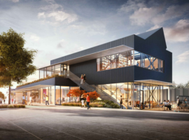 New Bike Pavilion Proposed for Bellevue's Spring District