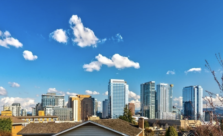 Home of the Month: Vuecrest Home With Unobstructed Mt. Rainier and Bellevue Skyline Views