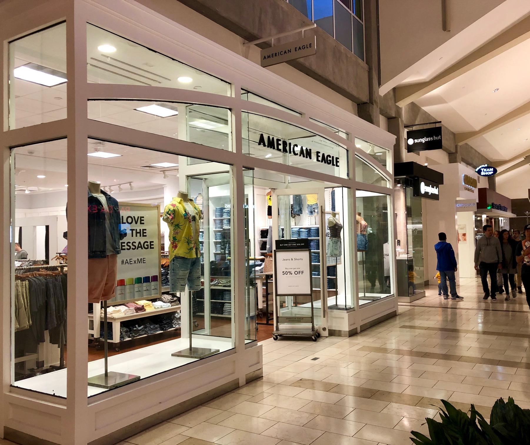 June 2019 Bellevue Square Updates: American Eagle, Peloton