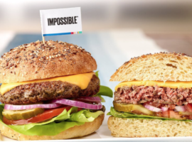 The Impossible Burger, Photo Credit: Impossible Foods