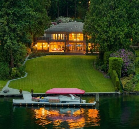 Home of the Month: Sparkling Lake Washington Views Living on Hunts Point for $15.99M
