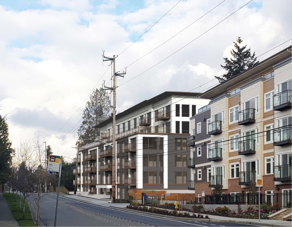 Plans For 104 Unit Apartment Complex On 100th Ave Ne