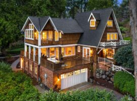 Beaux Arts West Bellevue Home