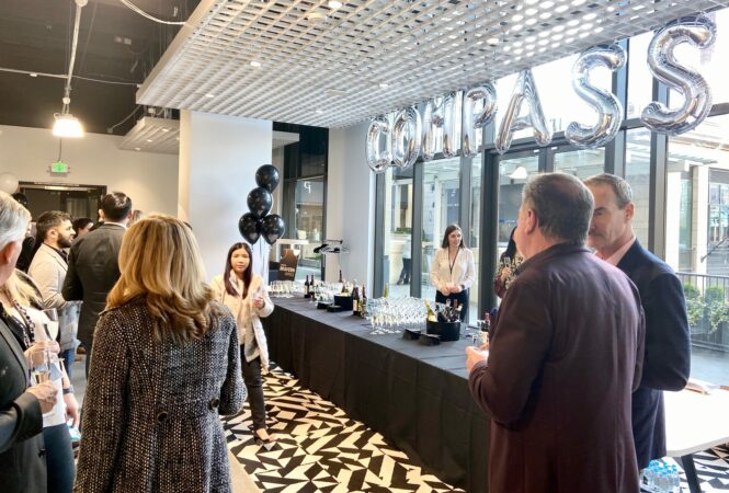 Compass Real Estate Celebrates Grand Opening at The Bravern